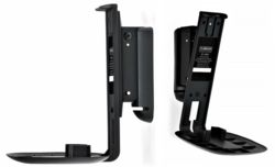 Flexson Wall Mount (Pair) For Sonos One and Play:1 Black