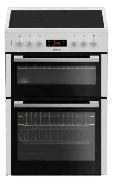 Blomberg 60cm Double Oven Electric Cooker HKN65W