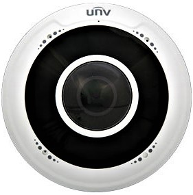 5MP Smart 1.6mm Fixed-Focal Fisheye Dome Camera - Vandal Resistant with Microphone IPC815SR-DVPF16