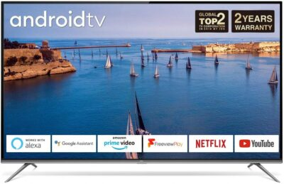 """TCL 43"""" Android Smart TV TCL43P715K"""