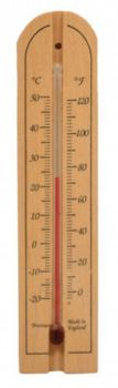 Centurion Beech Wall Thermometer  TM004