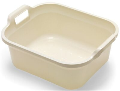 Addis Rectangle Bowl with Handles - Linen 0058087 (517937)