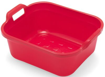 Addis Rectangle Bowl with Handles - Red 0058129 (517946)