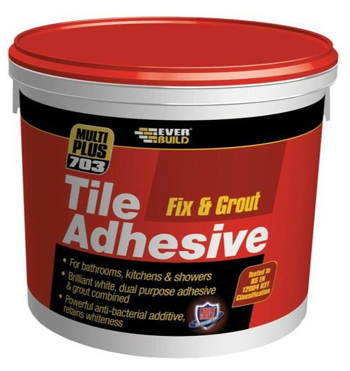 EverBuild 703 Fix and Grout 1L Tile Adhesive   1800226