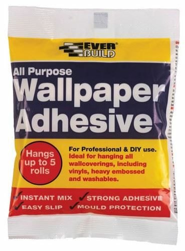 EverBuild All Purpose Wallpaper Paste - up to 5 Rolls 1802485