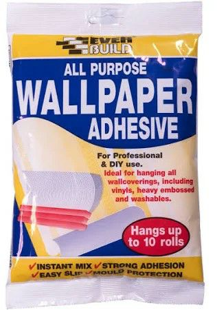 EverBuild All Purpose Wallpaper Paste - up to 10 Rolls 1802490