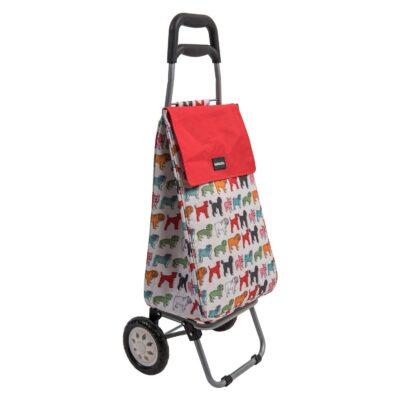 Sabichi Shopping Trolley - Pug 184467