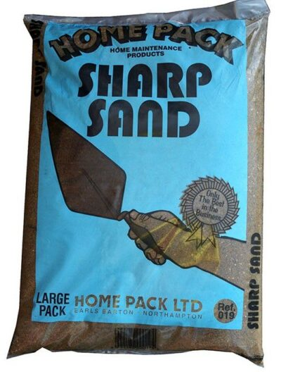 Home Pack 20Kg Washed Sharp Sand - Economy 1860196