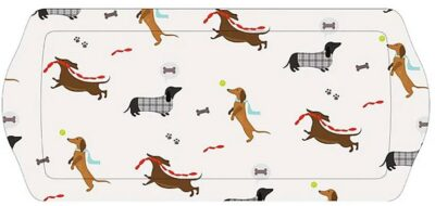 Long Drinks Tray - Sausage Dogs    HH2748 (2652748)