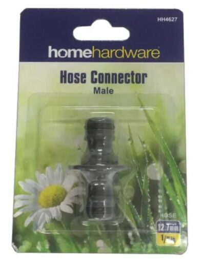 Home Hardware Double Male Hose Connector  2774627 (HH4627)