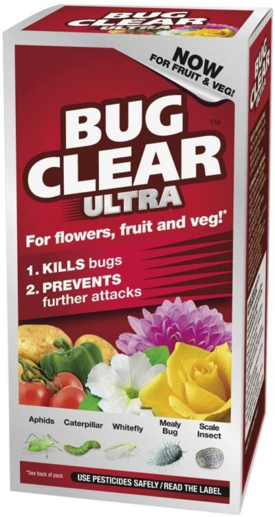 Bug Clear Ultra 200ml for Fruit and Veg 2954646