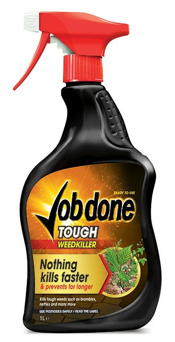 Job Done 1L Ready to Use Tough Weedkiller 3320072