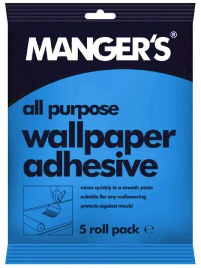 Mangers All Purpose Wallpaper Adhesive - up to 5 Rolls  4110166