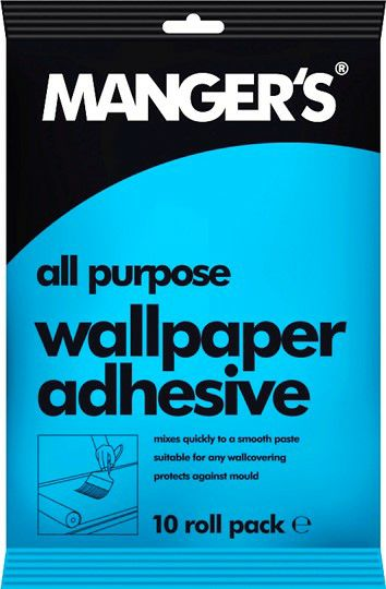 Mangers All Purpose Wallpaper Adhesive - up to 10 Rolls 4110171