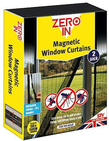 STV Zero In Magnetic Insect Curtain - 2 Pack ZER234 (5644001)
