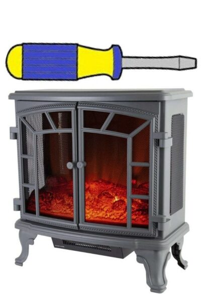 Electric Fire Freestanding Installation