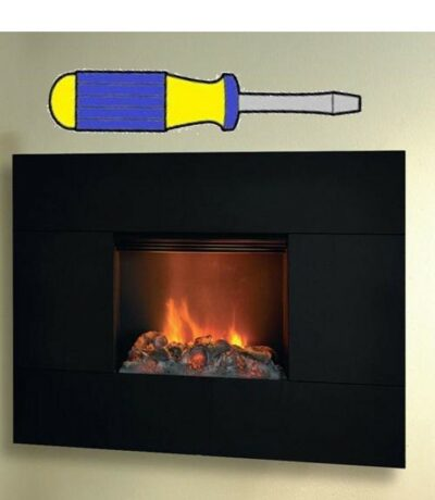 Electric Fire Wall Installation