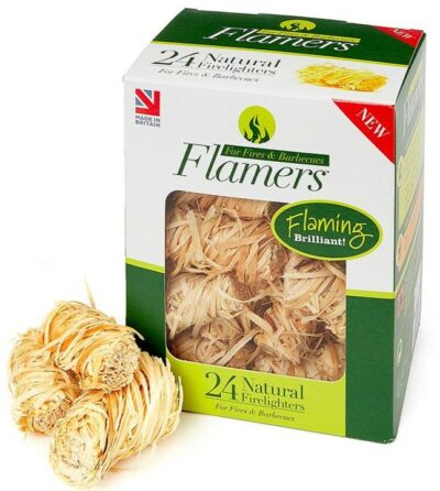 Flamers Natural Firelighters - 24 Pieces 2090117